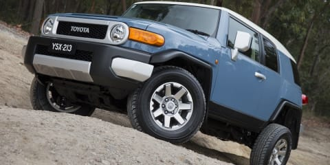 Toyota FJ Cruiser updated for 2014