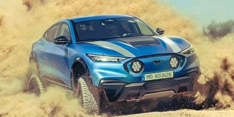 Ford's Mustang Mach-E reimagined as Dakar racer