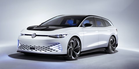 Volkswagen ID Space Vizzion points to next VW Passat wagon