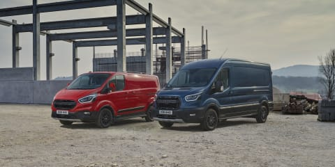 Ford Transit van gets Ranger Raptor grille but not the performance