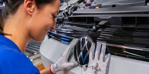 2020 Volkswagen Golf Mk8 teased: Production changes detailed