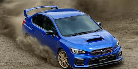 Subaru WRX STI EJ20 Final Edition unveiled