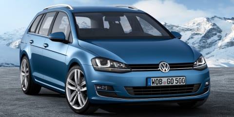Volkswagen Golf wagon officially revealed: all-wheel drive, 3.3L/100km