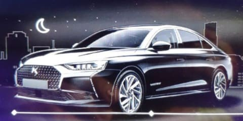 DS 8: Chinese-market sedan leaked