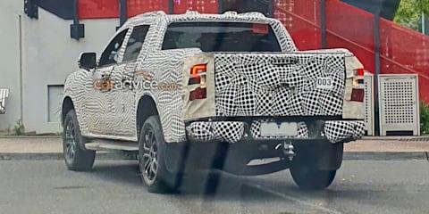 2022 Ford Ranger Wildtrak spied testing in Australia