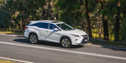 Lexus RX350L Sports Luxury comparison: 'Downdate' versus update