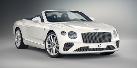 Bentley Continental GT Convertible Bavaria Edition revealed