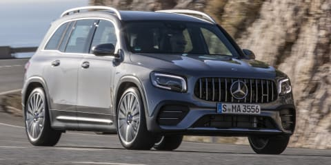 2021 Mercedes-AMG GLB 35 4Matic here in August