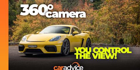 Video: 360-degree drive: 2021 Porsche 718 Cayman GT4 manual