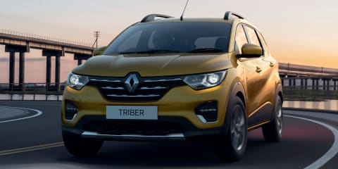 2019 Renault Triber revealed for India
