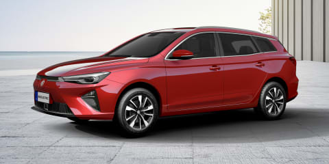 2021 MG 5 Electric wagon unveiled for Europe, Australian launch unlikely