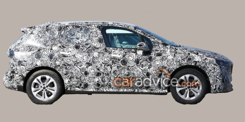 2021 BMW 2 Series Active Tourer spied