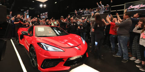 First Chevrolet Corvette C8 sells for $3 million at auction in the US