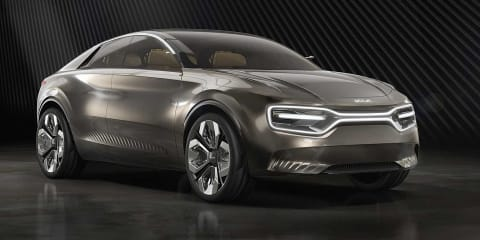 Kia unveils its first electric sedan: 'Imagine by Kia'
