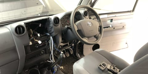 Toyota Landcruiser 79 build-up: Final instalment