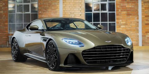 Aston Martin reveals 007-themed DBS Superleggera