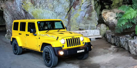 2015 Jeep Wrangler Unlimited X Review : Jenolan Caves Weekender