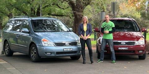 Kia Grand Carnival Comparison : Petrol v Diesel