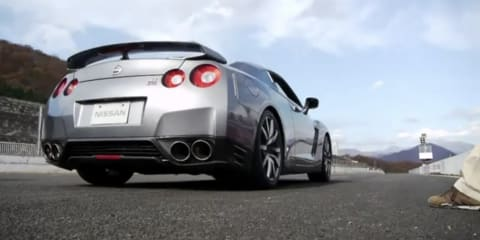 Video: 2012 Nissan GT-R launch control system