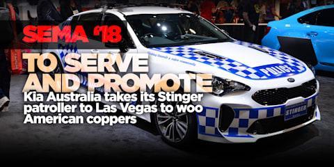 SEMA 2018: Kia Stinger cop car, Cerato drifter on tour
