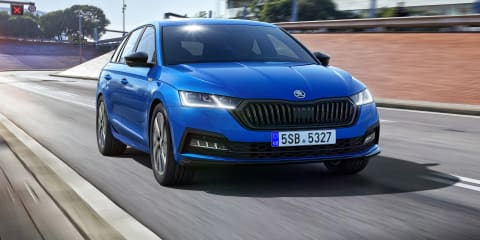 2022 Skoda Octavia Sportline revealed, Australian launch due early 2022
