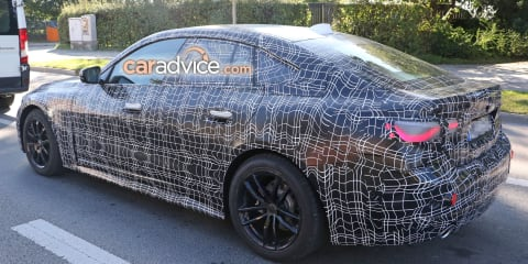 2020 BMW 4 Series Gran Coupe spied