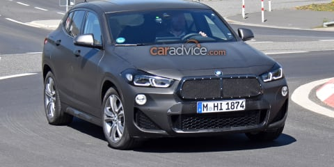 2020 BMW X2 facelift spied