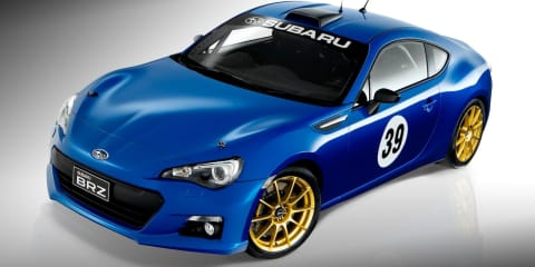 Subaru BRZ motorsport project car puts fans on track