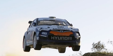 2011 Hyundai Veloster rally car teaser