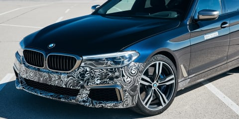BMW Power BEV: 530kW sedan prototype outed