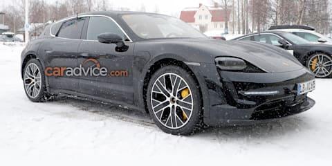 2021 Porsche Taycan Cross Turismo spied testing