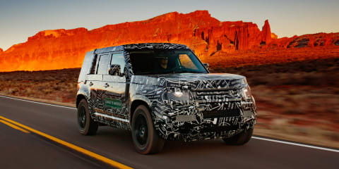 2020 Land Rover Defender testing almost finished