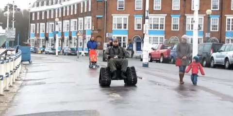 Dorset man's Tank Chair banned from public roads