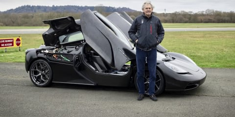 Video: Gordon Murray drives GMA T.50 at Top Gear test track for the first time