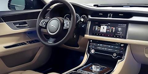 2016 Jaguar XF - InControl Touch Pro infotainment system