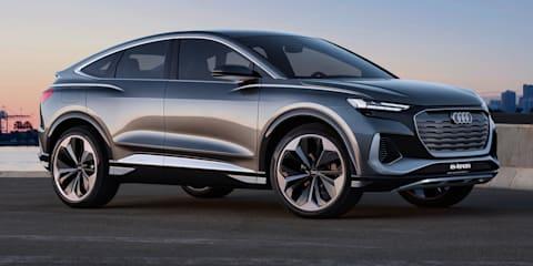 2021 Audi Q4 Sportback e-tron Concept revealed