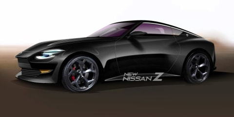 New Nissan Z: 400Z rendered off latest teaser