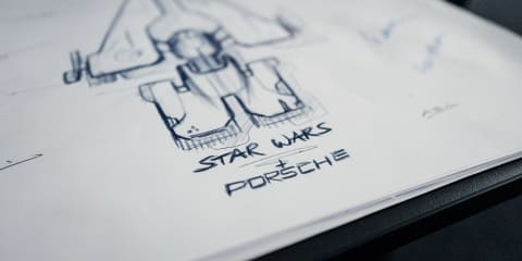 Porsche and LucasFilm to reveal Star Wars spaceship