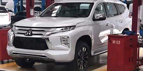 2020 Mitsubishi Pajero Sport leaked