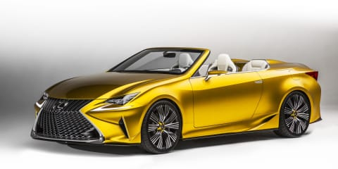"Lexus LF-C2 convertible ""purely a concept"", says chief designer"