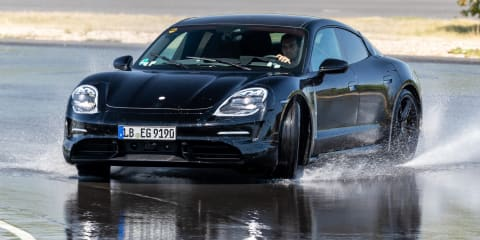 2020 Porsche Taycan review: Ride-along