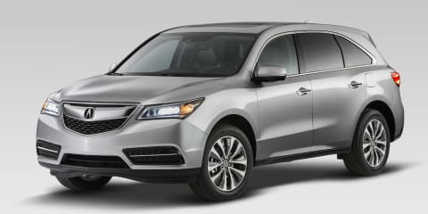 Honda MDX: luxury SUV gets new V6, goes front-drive