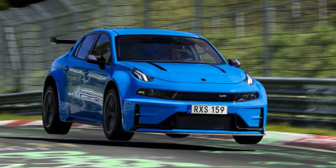 Lynk & Co 03 Cyan Concept sets Nurburgring lap record