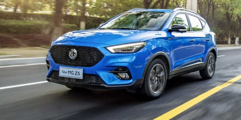 2021 MG ZS facelift, ZST model revealed - UPDATE: Australian details announced