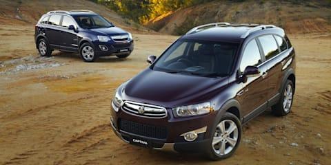 Holden Captiva: 14,000 diesel SUVs recalled for fire risk