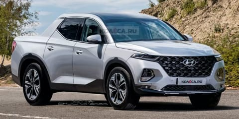 Hyundai Santa Cruz remains on wish list, double-cab ute still on track