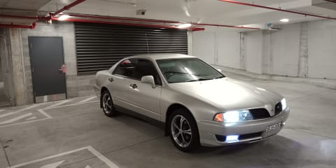 2001 Mitsubishi Magna Executive review