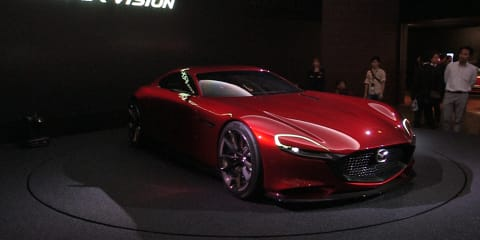 Mazda RX-Vision Concept Walkaround : 2015 Tokyo Motor Show