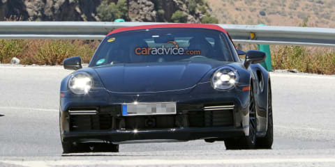 2020 Porsche 911 Turbo Convertible spied