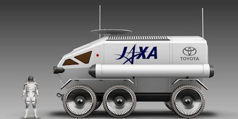 Toyota designs moon rover concept